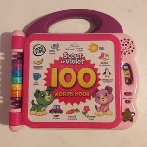 Leap Frog Scout & Violet 100 words electronic book